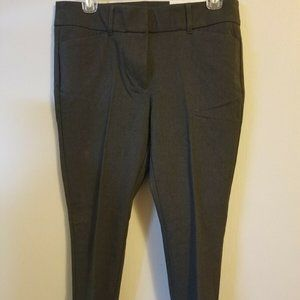 NWT Loft Outlet 00P Modern Skinny Ankle Pants Grey